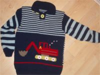Pullover mit Bagger