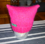 Pussy Hat gestrickt